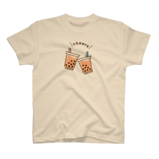 タピオカで「Cheers」 T-shirts