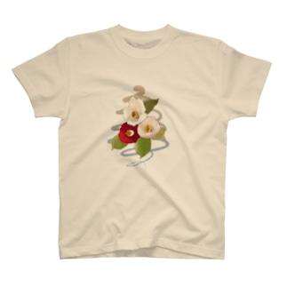 camellia T-shirts