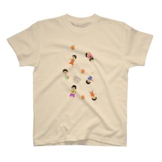 ゆるるかなひとたち T-shirts