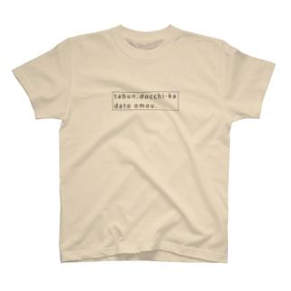 多分、どっちかだと思う。 T-shirts