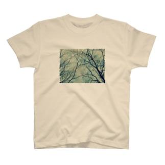 真上の世界 T-shirts