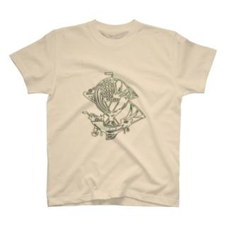 Voyage  airship T-shirts