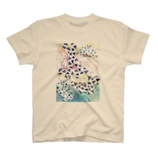 よく見るとチョウがいるよ。 T-shirts