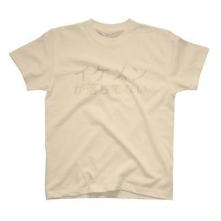 イケメンが落ちてない T-shirts