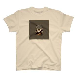 猫缶 T-shirts