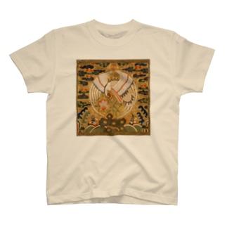 METの補子Tシャツ1-文官一品(仙鶴) T-shirts