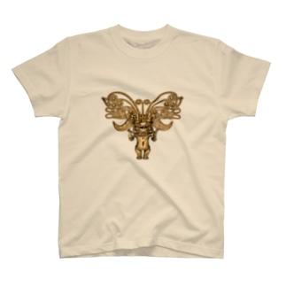 METのゴールドペンダント1 T-shirts