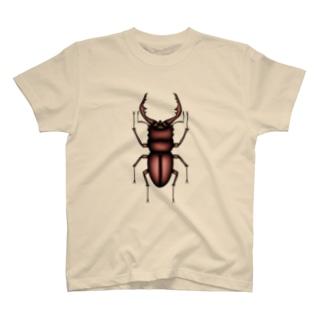 ノコギリクワガタ T-shirts