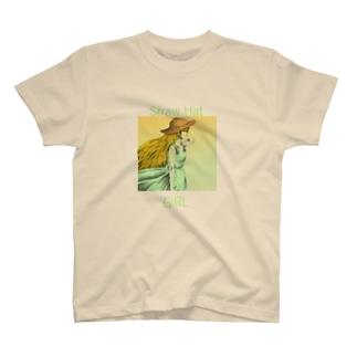 Straw Hat. T-shirts