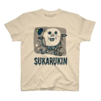 """SUKARUKIN """"バイキング・ハイ"""" T-shirts"""
