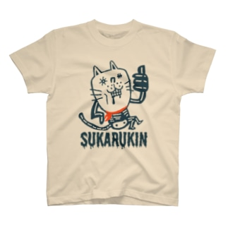 """SUKARUKIN """"ニャイス・イズ・デッド"""" T-shirts"""