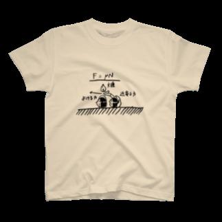 ニッチすぎて、誰も買わない店の近寄る力で火起こし T-shirts