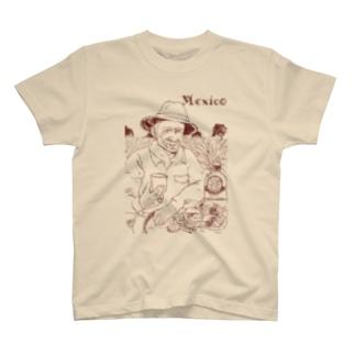 メキシコのおじちゃん フアン・カルロス T-shirts
