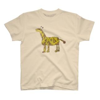 りしゆな:キリン by はせりょう T-shirts