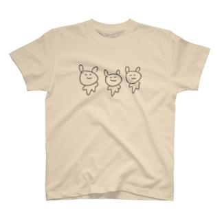 さんびきうさぎ T-shirts