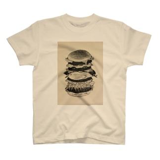 ジャンクジャンクジャンクバーガー T-shirts