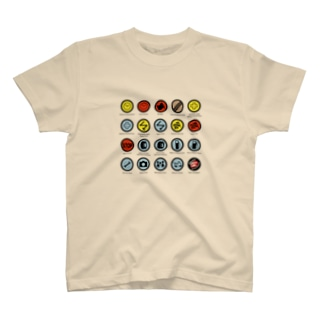 ZEUSJAPANのRALLY CONTROL SIGNS T-shirts