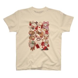 ねこかんアリス T-shirts