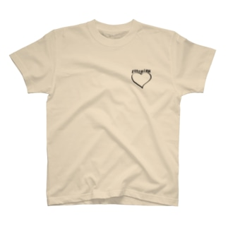 Mary Lou ロゴ×♡ T-shirts