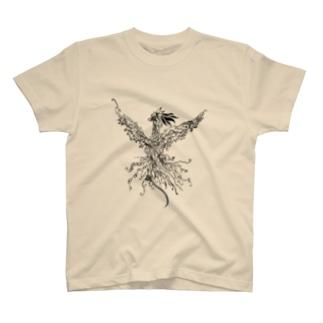 物語主題による朝陽 T-shirts