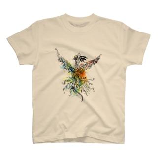 物語主題による朝陽2 T-shirts