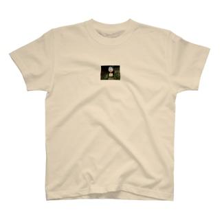 小さなバス停 T-shirts