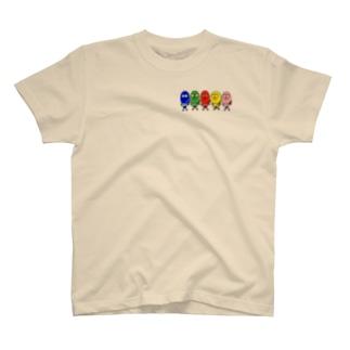 たまごレンジャーズ。字なしVer. T-shirts