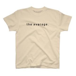 かくかくロゴ(黒) T-shirts