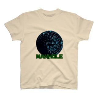 マンホール T-shirts