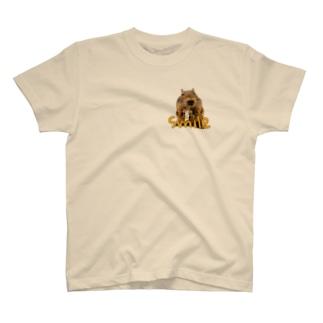 スマイルワンポイント T-shirts