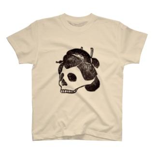 髑髏芸者 T-shirts
