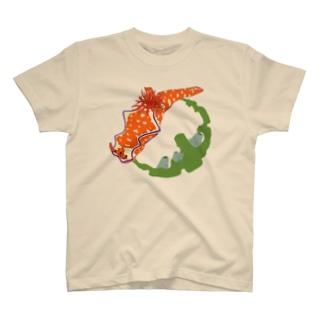 鮮やかニシキウミウシ T-shirts