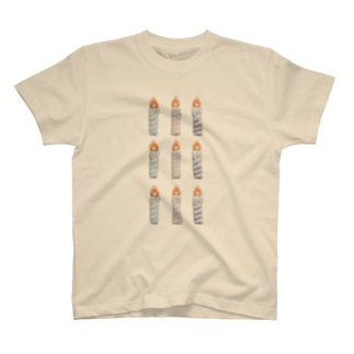 キャンドル T-shirts
