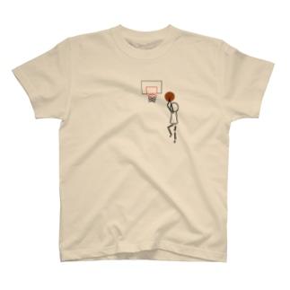 シュールなバスケくん T-shirts