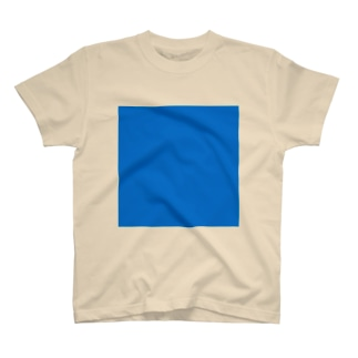 真っ青 T-shirts