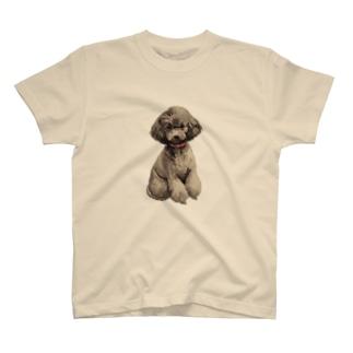 トイプードルさん T-shirts