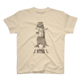 OTTER01 淡色用 T-shirts