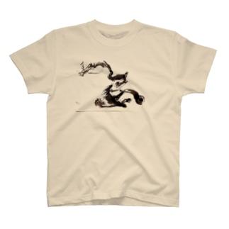 『龍国』日本 T-shirts