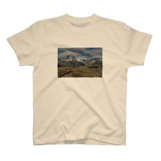 スイスの風景Tシャツ #002 T-shirts