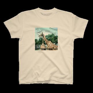 rokugatsunoumiのキリンのスローデイズ T-shirts