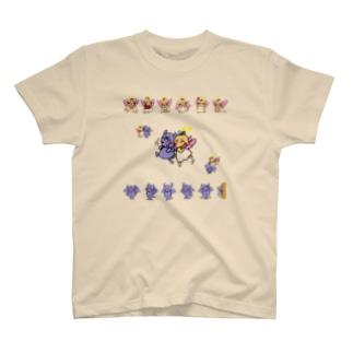 天使ちゃんと悪魔ちゃん T-shirts
