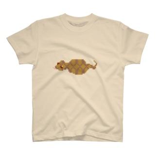 ドット ツチノコ T-shirts