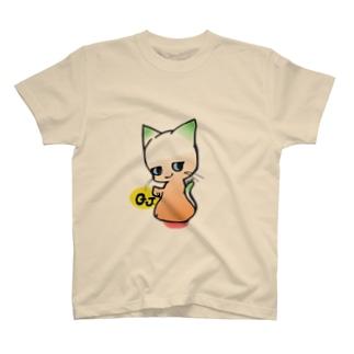 KAZZのGJにゃんこ T-shirts