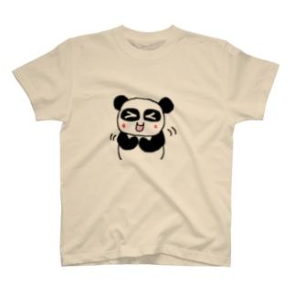 ぱんだかわいい T-shirts
