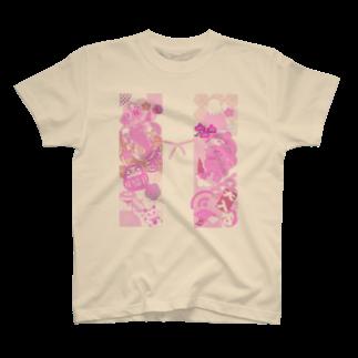 あおい's libraryのちゃんちゃんこ T-shirts