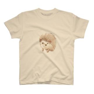ハリネズミのポタ T-shirts