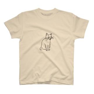 くろねこもんちゃん(スケッチ) T-shirts