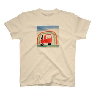 虹とくるま T-shirts