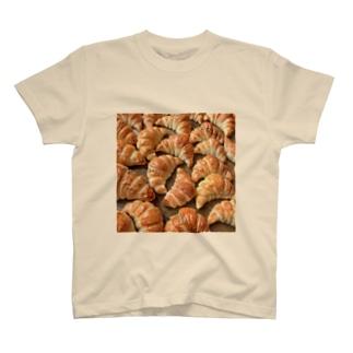 クロワッサン×クロワッサン T-shirts