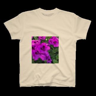 よっぱらいウサチャンの無意識ぱーぷる T-shirts